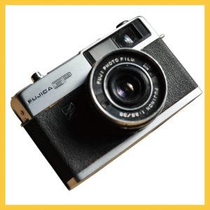 カメラの切り抜き写真